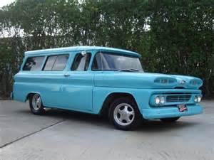 1960 chevrolet suburban apache panel wagon details