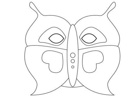 butterfly mask template butterfly mask template
