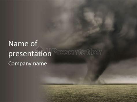 tornado template tornado hurricane powerpoint template id 0000010567