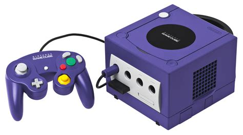 gamecube console file gamecube console set png wikimedia commons
