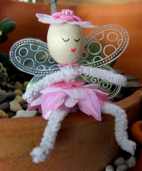 Handmade Fairies - handmade flower felt