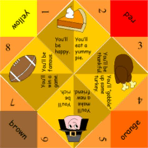 what to write on a paper fortune teller printable pictures for thanksgiving happy easter