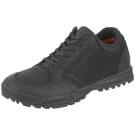 Sepatu 5 11 Tactical 6 Black 5 11 tactical athletic mens lace up pursuit shoes