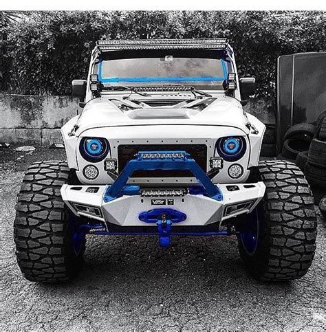 white and blue jeep 25 best ideas about white jeep wrangler on