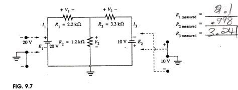 resistor measured values using the measured resistor values calculate the chegg
