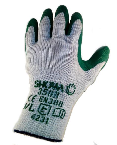 Gardening Gloves For Thorns by 10 Pairs Showa Gardening Gloves Nitrile Palm Grip Safety