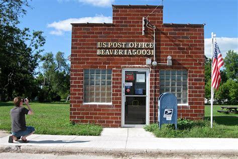 Pleasantville Post Office by About Iowa Backroads Iowa Backroads