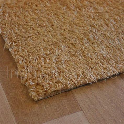 tapis de cuisine sur mesure tapis marron clair de cuisine lavable en machine