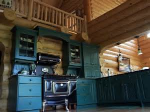Stain Or Paint Kitchen Cabinets log cabin kitchens archives north country cabinets
