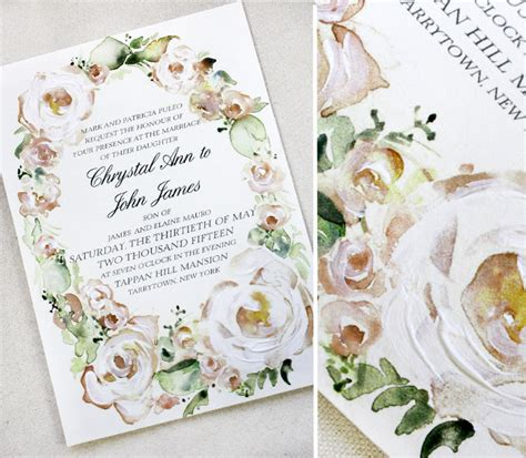Weddingku Undangan Pernikahan by Undangan Pernikahan Watercolor Cat Air Undangan Pernikahan