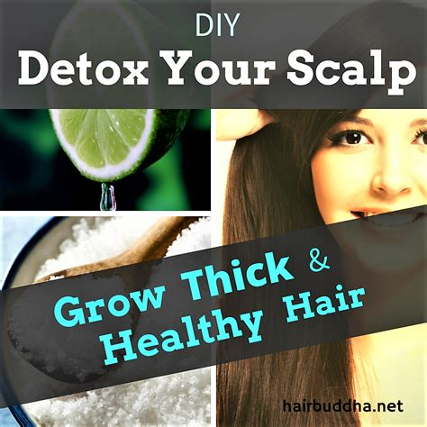 Scalp Detox Diy For Hair by 7 Ways To Detox Your Scalp Grow Thick And Healthy Hair