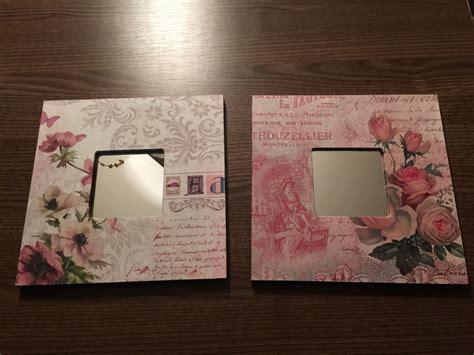 cuadros con espejos cuadros con espejo decorados con laminas recuerdos