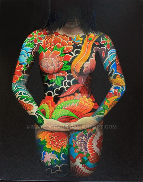 irezumi by mateograph on deviantart