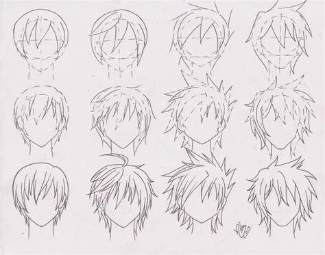 Anime Boy Hair by Artistic Advice Thread