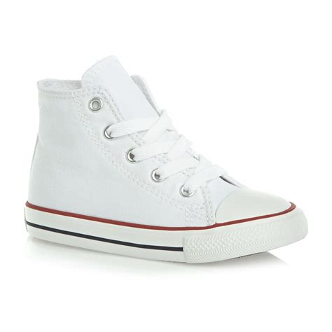 childrens converse sneakers converse chuck all classic hi canvas