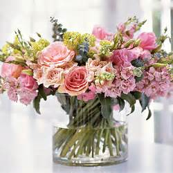 Monochromatic Flower Arrangements - flower power