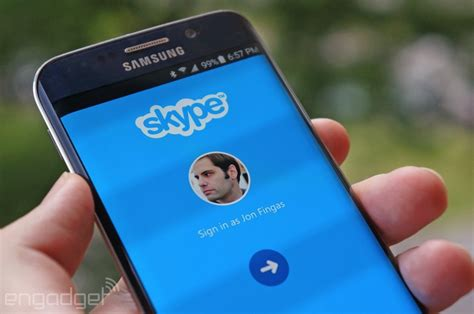 skype for android phone skype for android gives you custom ringtones and photo forwarding