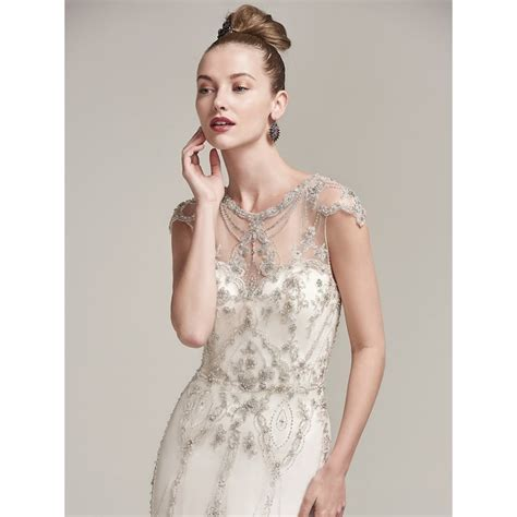 beaded bridal gown sottero and midgley syanne beaded wedding dress