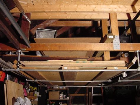 Garage Wood Storage by 1000 Images About Pallets Garage On Overhead