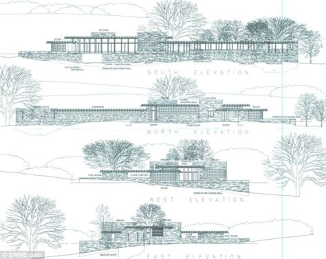 Prairie Style Home Plans Planning Inspector Nixes Plans For Frank Lloyd Wright