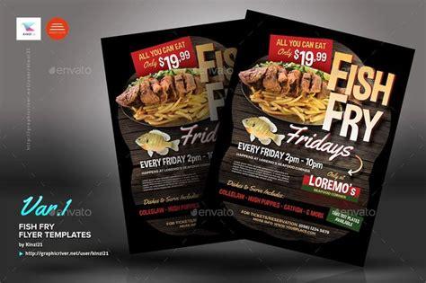 fish fry flyer templates luxury fish fry flyer