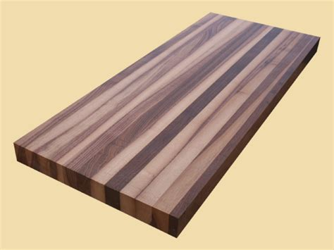 Sappy Walnut Butcher Block, Any Size, Quote and Order Online