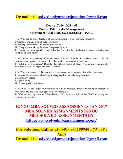 Http Videobychoice Search Relevance Cmgbeae I An Mba But No by Ignou Mba Solved Assignments 2017