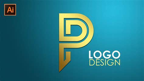 Logo Design | Illustrator CC Tutorial | Letter P - YouTube P Design Logo