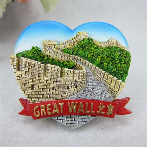 Souvenir Tempelan Magnet Great Wall China aliexpress buy great wall beijing china tourist