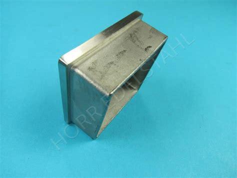 lenkappen 50x50 stopfen einsteck kappe f 252 r vierkantrohr 50x50 x 2 mm f 252 r