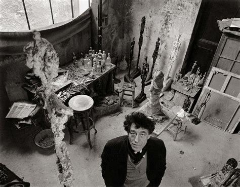 portrait jean genet giacometti robert doisneau alberto giacometti dans son atelier tirage