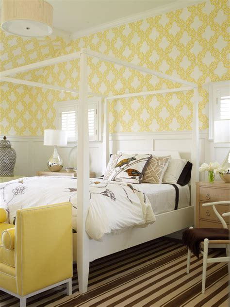 yellow and white bedroom no fail guest room color palettes home remodeling