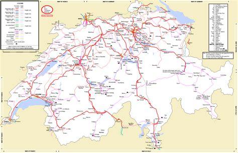 map of switzerland cities switzerland map and cities