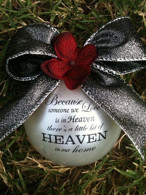 in heaven ornament