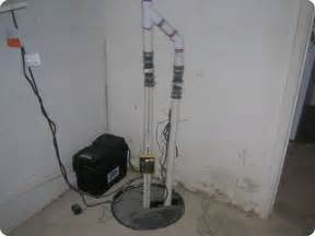 sump for bathroom in basement submerged sump system with battery backup