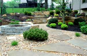 simple backyard landscaping ideas stone landscape design homelk com