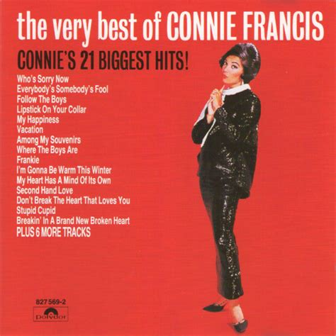 the best of connie francis connie francis the best of connie francis connie s