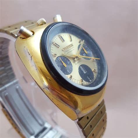 Citizen Bullhead Chronograph Automatic citizen bullhead automatic chronograph wristwatch 1970s catawiki