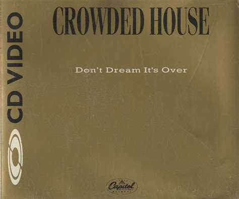 crowded house don t dream it s over crowded house don t dream it s over c d video n t s c uk promo cd single cd5 5 quot 31221