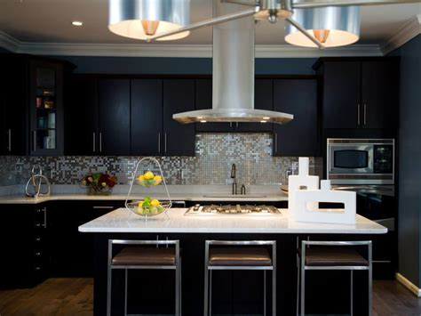 black modern kitchen cabinets 24 black kitchen cabinet designs decorating ideas