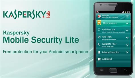 kaspersky mobile security apk version 5 free antivirus for android devices