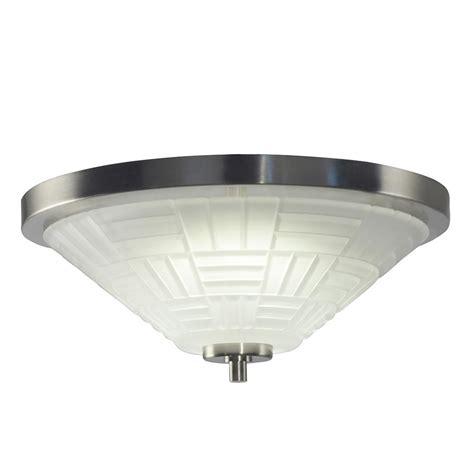 Ceiling Light Wattage Springdale Lighting Houston 18 Watt Satin Nickel Integrated Led Ceiling Flushmount Gh15486led