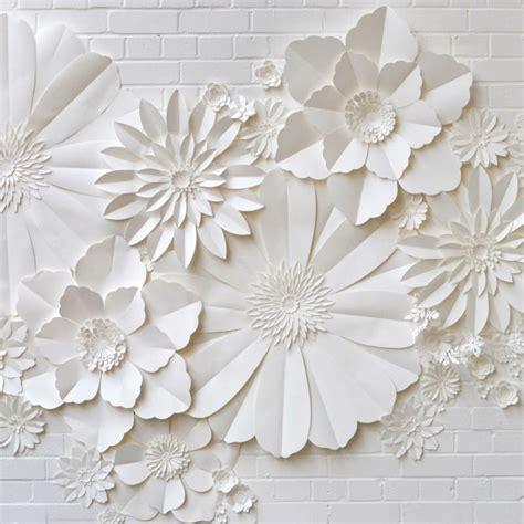 tischdeko papierblumen 150 verbl 252 ffende bastelideen aus papier archzine net