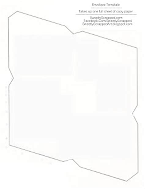 printable envelope template for 8 5 x 11 paper sweetly scrapped free printable envelopes