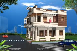 3d exterior home design free 3d views of rajasthan style home exterior