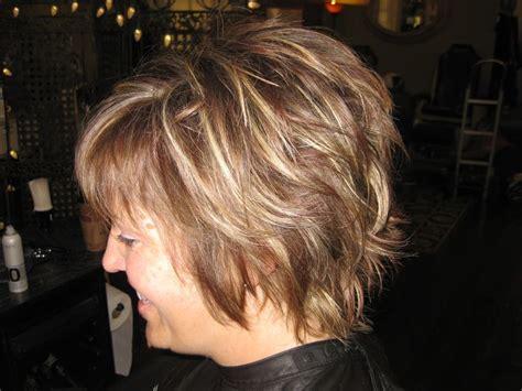 lots of layers sassy short haircut pinteres layered highlights brown short brunette sassy fun
