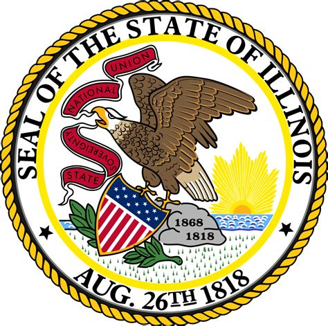 Finder Illinois File Seal Of Illinois Svg Facts For Kidzsearch