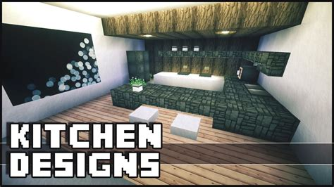 kitchen ideas for minecraft minecraft kitchen designs ideas youtube