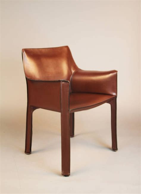 Cab Chair by Pair Of Cassina Cab 413 Chairs At 1stdibs