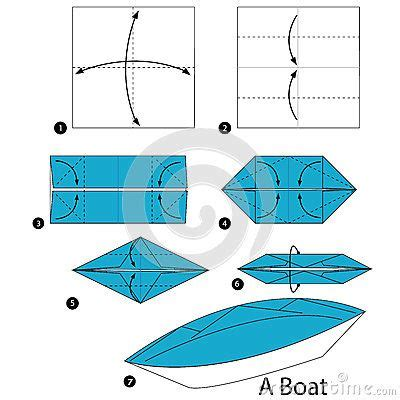 step by step origami boat the 25 best origami boat ideas on